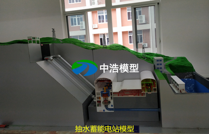 抽水蓄能电站仿真模型