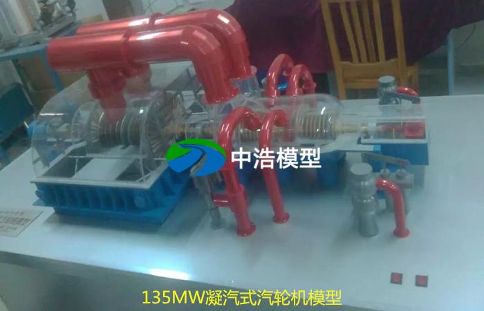135MW凝汽式汽轮机模型