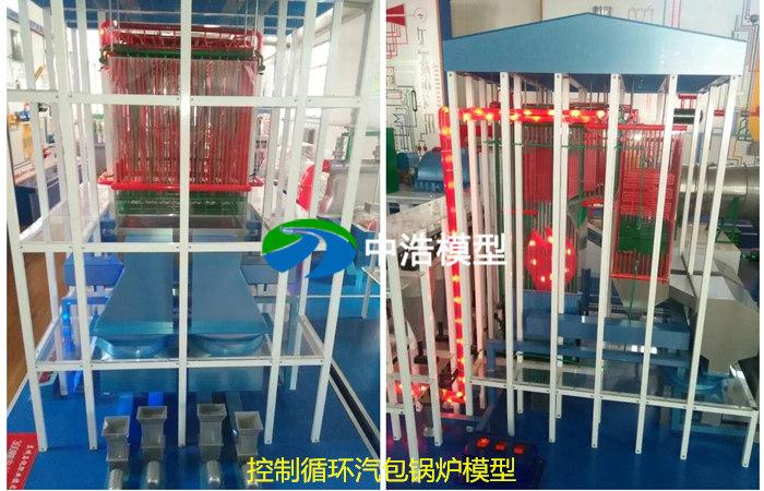 控制循环汽包锅炉模型